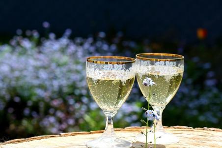 Le champagne est offert pendant les trois jours !